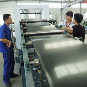 Three Calender Plastic Sheet Film Extrusion Line pictures & photos