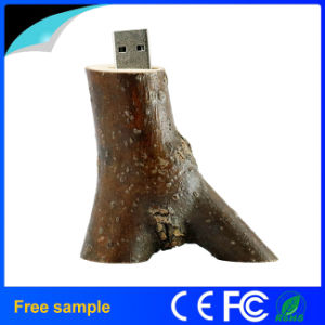 Eco-Friendly Natural Tree Wood Branch Pendrive 4GB