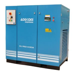 8bar Non-Lubricated etc Rotary Oil Free Screw Compressor (KF185-08ET) pictures & photos