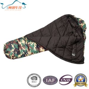 Portable Single Person Mummy Backpacking Creving Sleeping Bag pictures & photos