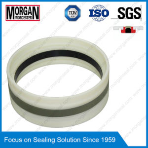 Gd1000k Type PA/PTFE/POM/NBR Hydraulic Cylinder Piston Seal Ring pictures & photos