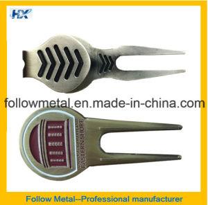 Magnet Golf Divot Repair Tool with Custom Logo