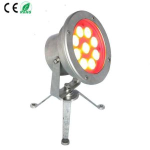 RGB Stainless Steel IP68 LED Underwater Fountain Light pictures & photos