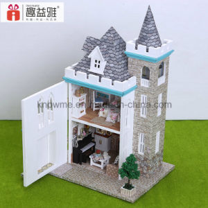 Guangzhou 3D Puzzle Dollhouse DIY Wooden Toy pictures & photos