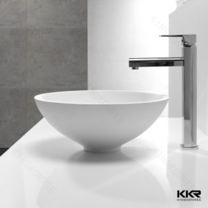 Solid Surface Sanitary Ware Bathroom Corner Basin pictures & photos