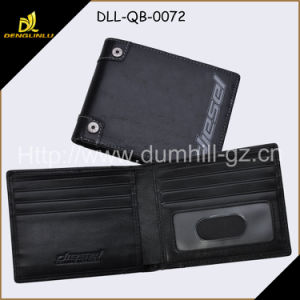 European Small Size Leather Man Wallet pictures & photos