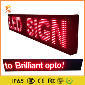 LED Car Window Single Color Display Screen pictures & photos