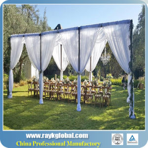 Portable Pipe and Drape Kit for Wedding Backdrop pictures & photos