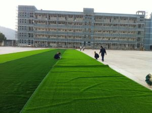 Wear-Resistance 20mm-50mm Landscaping Grass for Sale pictures & photos