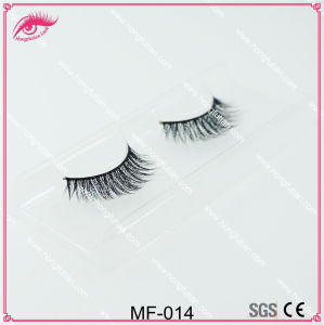 Faux Mink Eyelash Mink Eyelashes Private Label Mink Lashes Strip pictures & photos