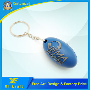 Professional Custom Plastic Key Chain /Soft PVC Rubber Key Holder at Cheap Price (XF-KC-P21) pictures & photos