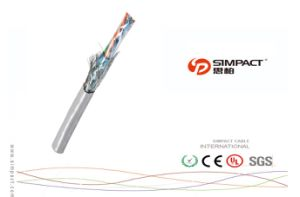 CE, RoHS Approved SFTP Cat5e LAN Cable pictures & photos