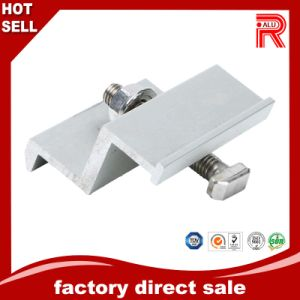 Aluminum/Aluminium Extrusion Proifle for Solar Frame End Middle Clamps pictures & photos