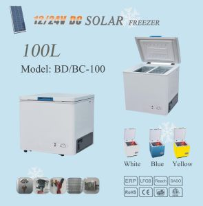 12V/24V Compressor Mini Solar Refrigerator Freezer pictures & photos