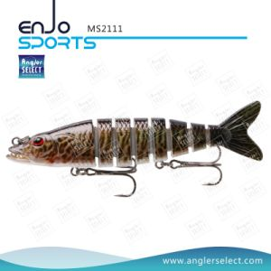 7 Section Swimbait Lures Multi-Section Jointed Life-Like Plastic Fishing Lure (MS2111) pictures & photos