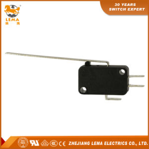 Lema 16A CCC Ce UL VDE Kw7-98 Long Lever Micro Switch pictures & photos