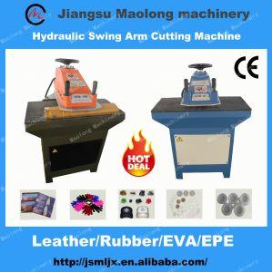 Hydraulic Swing Arm Rubber Cutting Machine/EVA Foam Die Cutting Machine pictures & photos