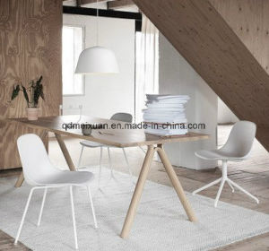 Nordic New Contracted Completely Real Wood Rectangular Table Modern Rural Style Table Manufacturer Wholesale (M-X3840) pictures & photos