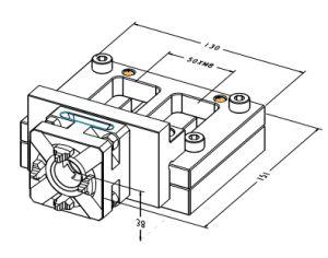 CNC Precision Wire-Cut Precision Vise for EDM Lathe pictures & photos