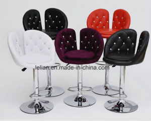 Best Design PU Bar Chair, Modern Adjustable Swivel Stool (LL-BC073) pictures & photos
