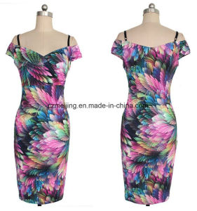 Five Color Women`S Slip Dress pictures & photos