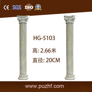 Factory Hot Sale Polyurethane PU Roma Columns for Villa / Home Decoration pictures & photos