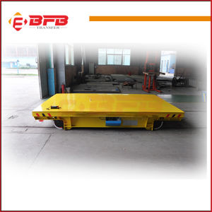 1-300t Battery Operated Motorized Handling Trolley for Aluminium Coil pictures & photos