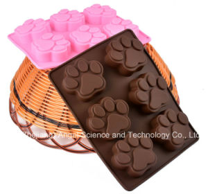 Holiday Sale 100% Food Grade Chocolate Cake Silicone Mould Sc48 pictures & photos