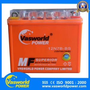 Most Popular Gel Type 12n7b-BS Motorcycle Battery pictures & photos