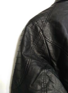 Women′s Slim Fit Leather Zipper Motorcycle Jacket, Fashion Clothing pictures & photos