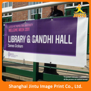 Large Fabric Printing Street Hanging Banner for Promotion