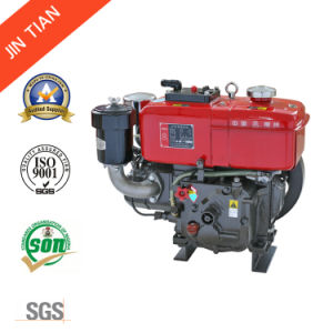 4.2 Kw Water Cooled Single Cylinder Diesel Engine (JT76) pictures & photos