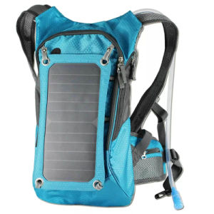 Outdoor Mountaineering Cross-Country Multifunctional Solar Charging Backpack pictures & photos