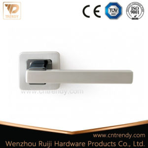 High Performance Assembled Door Lever Handle on Rosette pictures & photos