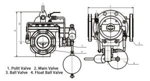 106X Solenoid Control Float &  Lever Valve pictures & photos
