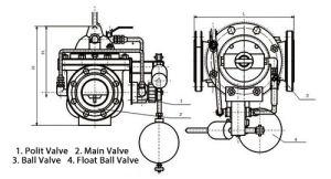 106X Solenoid Control Float & Lever Valve pictures & photos