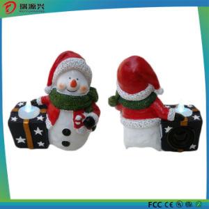 Santa Claus Polyresin Night Light Mini USB Bluetooth Speaker pictures & photos