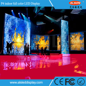 P4 Full Color Fixed Indoor LED Display Board pictures & photos