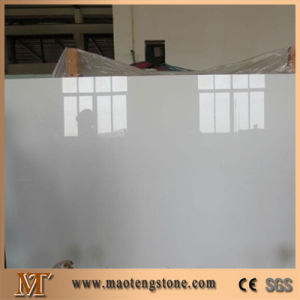 2cm Thickness Pure White China Nano Crystallized Glass Panels pictures & photos