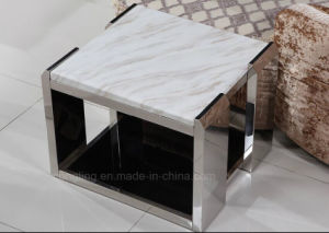 Modern Bedside End Table Stainless Steel Side Table pictures & photos