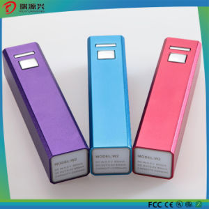 Aluminum Alloy Rectangle Mobile Phone Charger 2500mAh pictures & photos