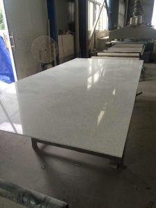 White Sparkle Artificial Quartz Stone Slabs for Wholesale pictures & photos