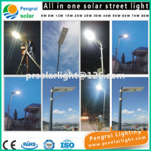 LED Solar Motion Sensor Energy Saving Outdoor Garden LED Street Light pictures & photos