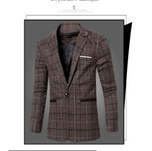 Latest Fashion Men Suits and Blazers 2017 Man Casual Suits pictures & photos