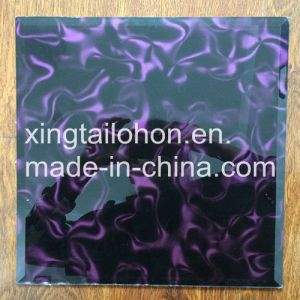 Customization Glass Wall Painting Sheet Color Coated Glass pictures & photos