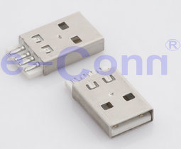 SMT USB2.0 Male/Female Connector pictures & photos