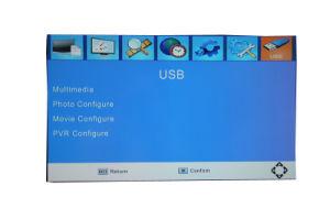 H. 265 DVB-T2 Digital Terrestrial Receiver Set Top Box PVR USB pictures & photos