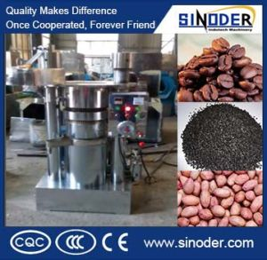 6yz-245hydraulic Oil Press, Screw Oil Extraction Machine for Pressing Cocoa, Sesame, Peanut pictures & photos