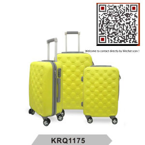 New ABS Plastic Waterproof Travelling Trolley Luggage (KRQ1175) pictures & photos