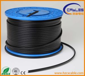 Double Sheath Cat5e CAT6 FTP UTP SFTP Outdoor Cable with Steel Messenger pictures & photos